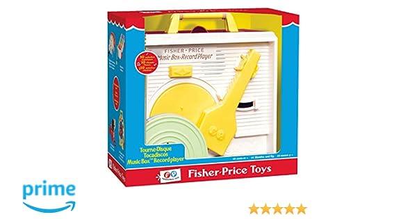 Fisher-Price AKFPTD01ML - Tocadiscos: Amazon.es: Juguetes y juegos