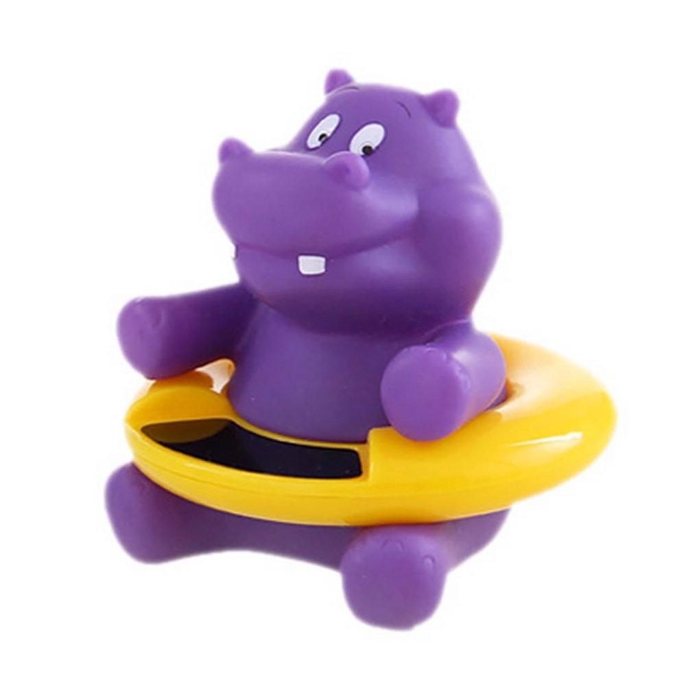 Newin Star Termómetro de Agua, Termómetro para baño con diseño de Animal Lindo Termómetro baño para bebé (Hipopótamo)
