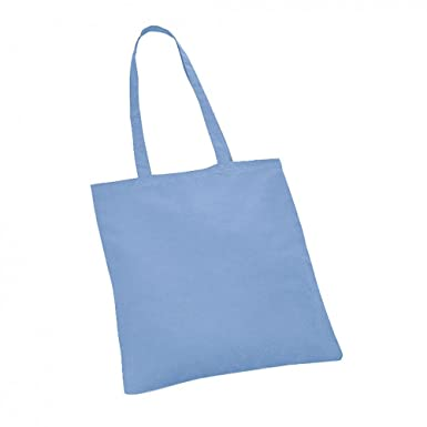 b0e9d4527 Image Unavailable. Image not available for. Colour: 10 NATURAL COTTON TOTE  BAGS SHOPPERS ...