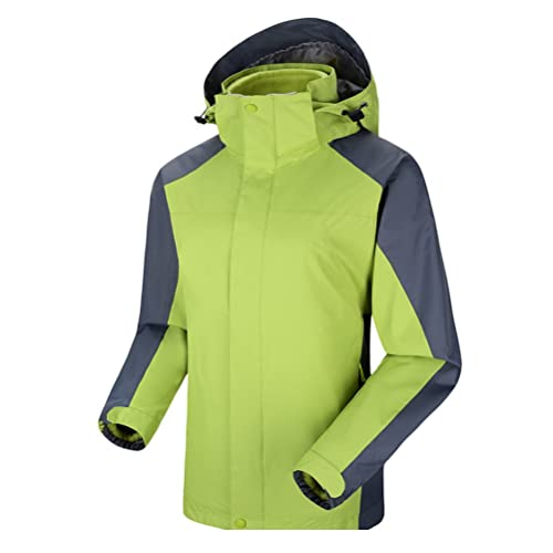 Zhhlaixing Calidad Alta Lightweight Coat & Jackets Waterproof Windproof Thin Outdoor Raincoat Hooded Softshell Jacket para Women