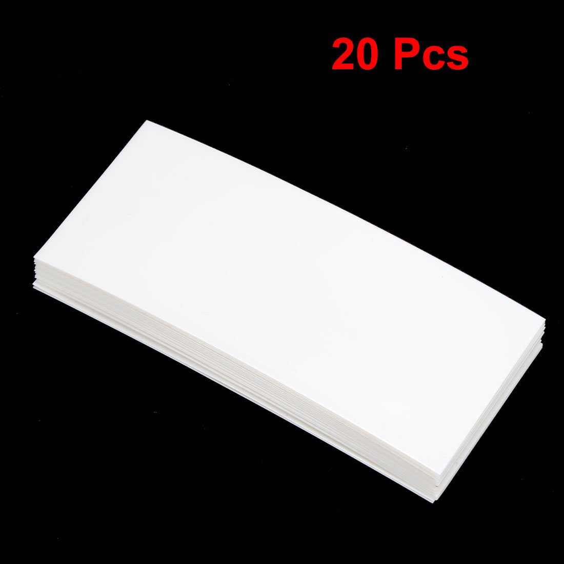 sourcingmap 30mm Flat Width 6M Length PVC Heat Shrink Tube Tubing Clear for 1 x 18650 Battery