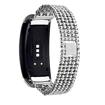 Alonea Stainless Steel Bracelet Smart Watch Band Strap For Samsung Gear Fit2 SM-R360