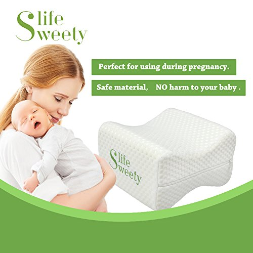 Sweetylife Knee Pillow For Back Pain Sciatica Relief