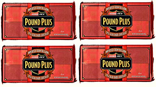 Angry Birds Gummies (Trader Joe's Pound Plus GIANT Belgian 72% Dark Chocolate Bar - 4 Pack (17.6 oz))