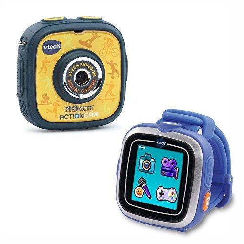 Amazon.com: Vtech Kidizoom Action Cam Smart Watch Bundle by ...