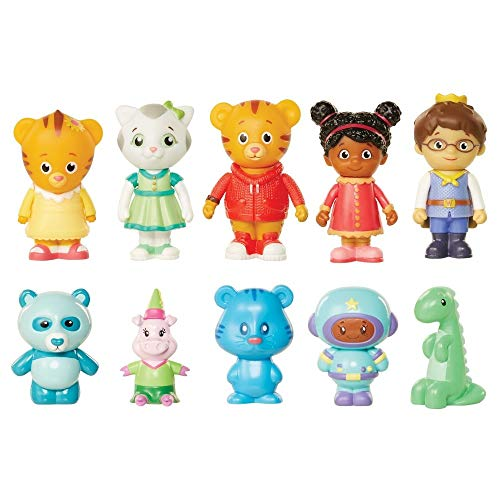 borhood - Friends & Stuffies exclusive figure set 10 piece (Electronic Trolley)