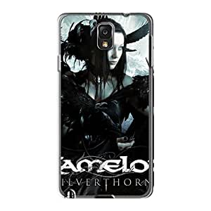 Excellent Hard Cell-phone Cases For Samsung Galaxy Note3 With Customized Realistic Avenged Sevenfold Image ColtonMorrill