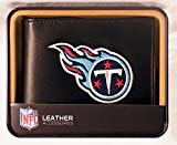 NFL Tennessee Titans Embroidered Genuine Cowhide Leather Billfold Wallet