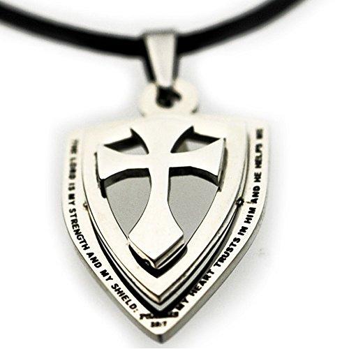 Cross Shield Necklace