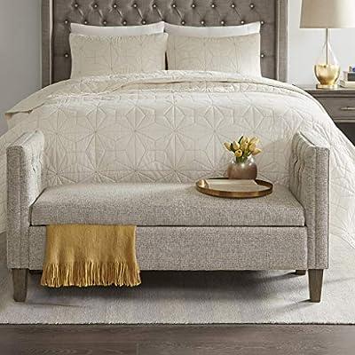 Strange Amazon Com Gavin Storage Bench Grey Multi See Below Short Links Chair Design For Home Short Linksinfo