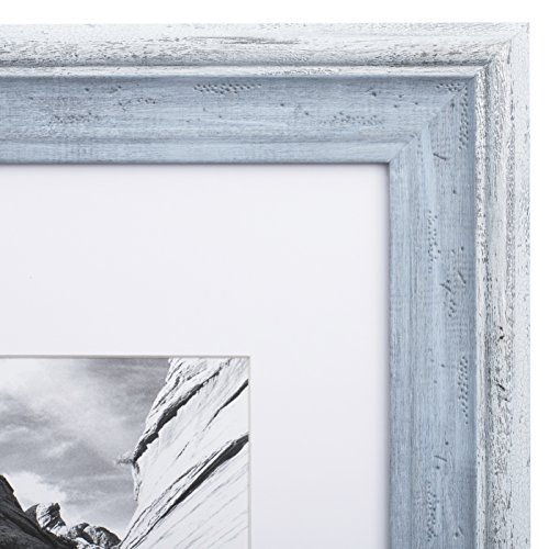 Picture Frame Distressed Blue