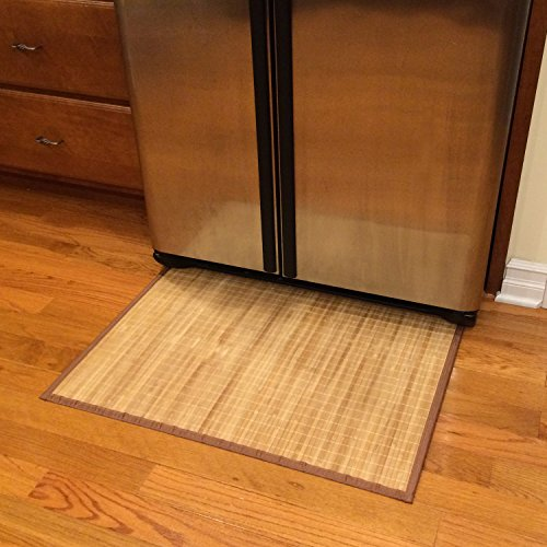 Sustainable Simplicity Bamboo Floor Mat, Natural, Brown