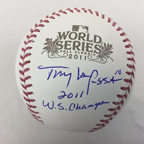 Tony Larussa Signed inscribed