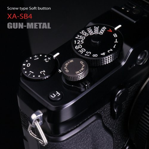 - Gariz Metal XA-SB4 Camera Screw Type Soft Button for X-PRO1 X100 X10 LEICA CONTAX, Copper