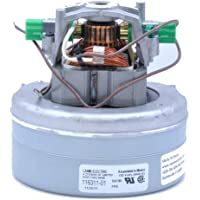 ProTeam and Filter Queen Canister Vacuum Cleaner Motor Fits: Single Speed Models