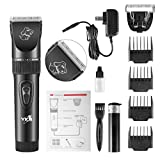 YKS Pet Clipper Dog Grooming Trimming Kit with Comb Design Professional Rechargeable Cordless