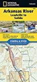 img - for Arkansas River, Leadville to Salida (National Geographic Fishing & River Map Guide) book / textbook / text book