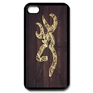 Personalized DIY Camo Browning Custom Cover Case For iPhone 4,4S C4K293343