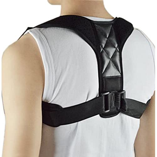 Dos Support Correction de Posture Dos Épaules pour hommes femmes enfants et adolescents, la posture Taille Ajustable