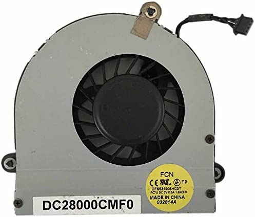 0XVXVH DC28000CMF0 XVXVH New Laptop CPU Cooling Fan For Dell Alienware M17XR3 M17X R3 R4