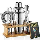 Mixology Bartender Kit with Stand   Bar Set