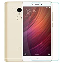 Kepuch Xiaomi Redmi Note 4 Screen Protector - 2 Pack Tempered Glass Film 9H Hardness Curved Edge Protection for Xiaomi Redmi Note 4