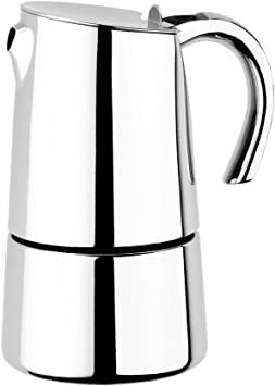 BRA Bella - Cafetera, Capacidad 2 Tazas, Acero Inoxidable 18/10: Amazon.es: Hogar