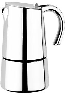 BRA Bali - Cafetera Italiana de Acero Inoxidable 18/10, 4 Tazas ...