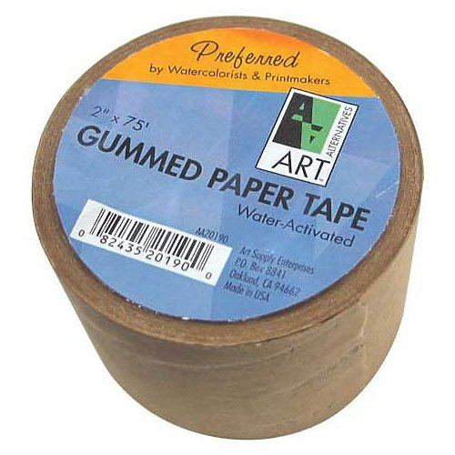 Gummed Paper Tape (Gummed Paper Tape 2In X 75Ft)