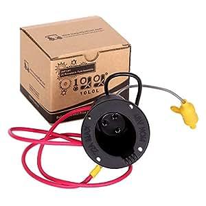 10l0l 48 volt charger receptacle and fuse. Black Bedroom Furniture Sets. Home Design Ideas