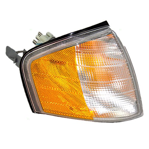 Passengers Park Signal Corner Marker Light Lamp Lens Replacement for Mercedes-Benz 2028261243 AutoAndArt