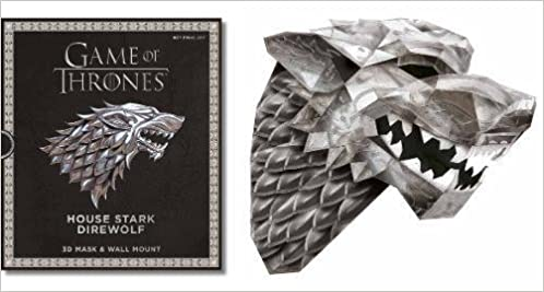 Game of Thrones Mask: House Stark Direwolf: Steve Wintercroft: 9781780977782: Amazon.com: Books