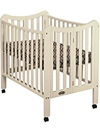 orbelle tian portable crib french white