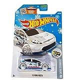 Hot Wheels - 157/250 - 2016 HW Snow Stormers 2/5 - '12 Ford Fiesta by Mattel
