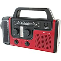 Digital Products International Wr383r Crank Weather Radio & Flashlight
