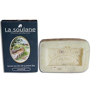 La soulane - Jabón con leche de yegua Bio Avena la soulane 100 G: Amazon.es: Belleza
