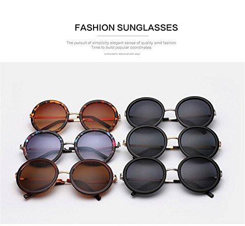 soleil lunettes de Lunettes C1 Rétro designer Nouvelle Femmes soleil Oculos ronde technolog revêtement qbling Vintage Femme de Brand T1IFOO