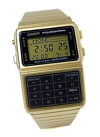 7df69fb96c Amazon | [カシオ]CASIO データバンク メンズ 腕時計 DBC-611G-1DF ...