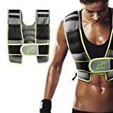RitFit Adjustable Weighted Vest with Neoprene Fabric for Men&Women, 8lbs/10lbs/12lbs/15lbs/20lbs, Weight Vest for Workout, Crossfit, Strength Training, Muscle Building