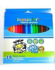 أقلام بلاستيك 18 لون صنع اسبانيا