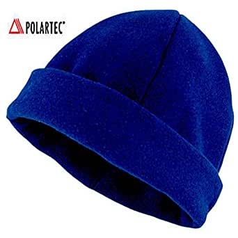 TAIGA Watch Cap Thermal Hat Polartec-300 fleece, Navy (S/M)