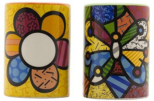 ic, Flower/Butterfly Design, Salt & Pepper Shakers ()