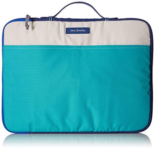 Laptop Organizer Messenger Bag Bag, Cool Lagoon, One Size