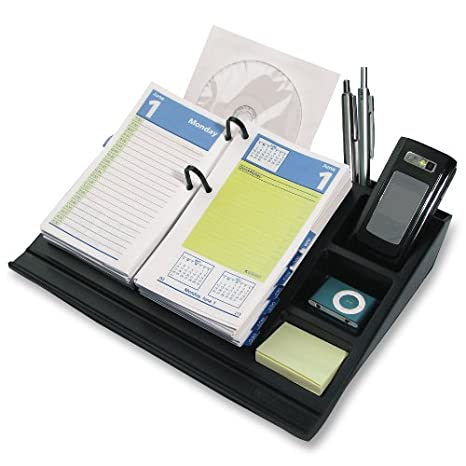 at a glance 17 style desk calendar base and organizer 105 x