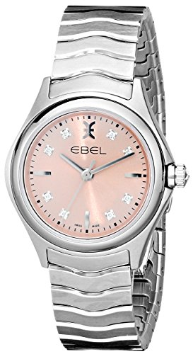 EBEL Women's 1216217 Wave Analog Display Swiss Quartz Silver (Ebel Swiss Watches)
