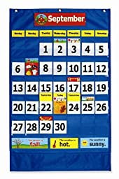 Pacon Calendar Weather Pocket Chart (0020800)