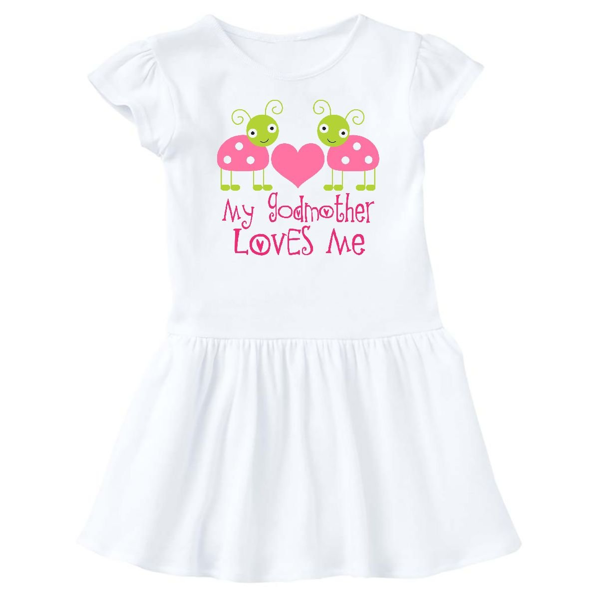 Amazon.com: inktastic madrina Loves ME Niñas Ladybug Infant ...