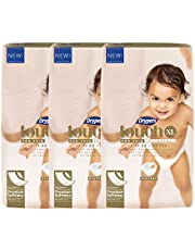 Drypers Touch Diapers, XL, Case, 3 packs x 46 Count