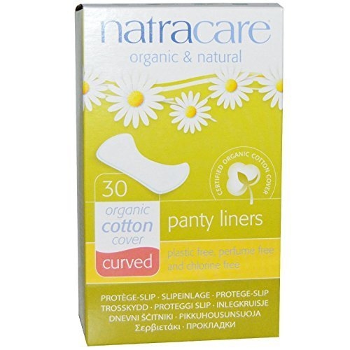 Natracare Panty Shields Curved 30 ct (3 Pack)