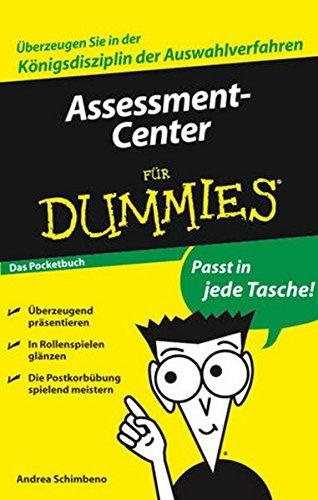 Assessment-Center für Dummies Das Pocketbuch